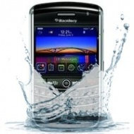blackberry curve 9360 waterschade