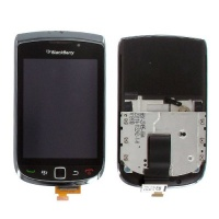 blackberry torch 9800 front